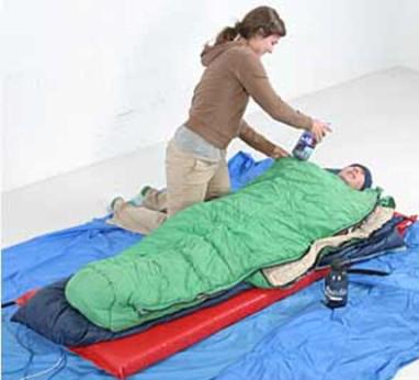 Первая помощь при гипотермии